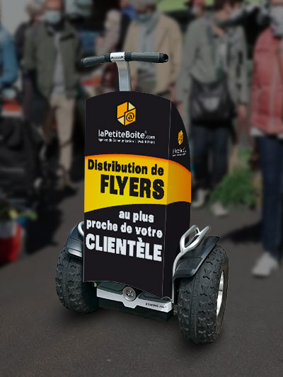 Distribution Flyers Rambouillet